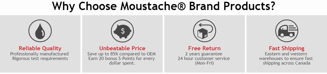 Why Choose Moustache Brand Products