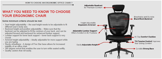 How to choose office chair