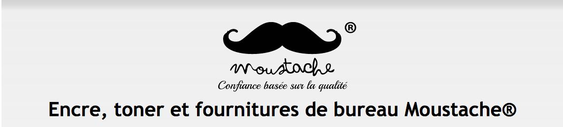 encre, toner et fournitures de bureau Moustache