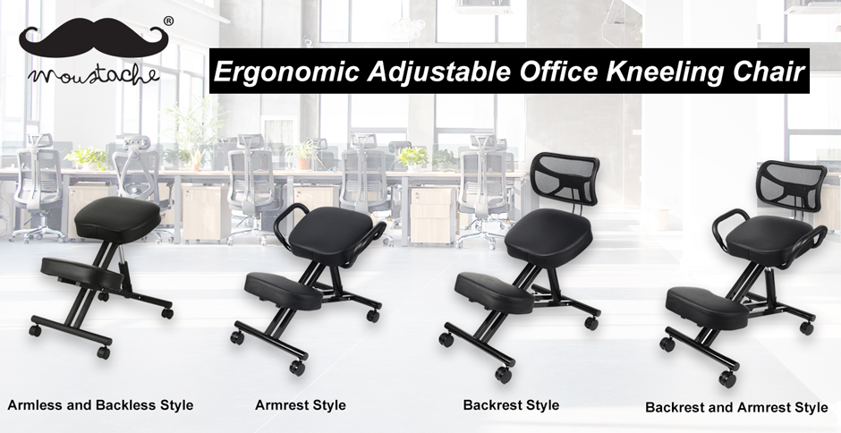 Ergonomic Adjustable Office Kneeling Chair